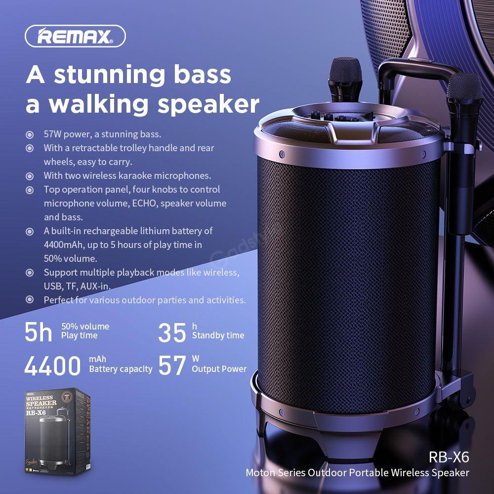 Remax Rb X6 Wireless Bluetooth Speaker (1)