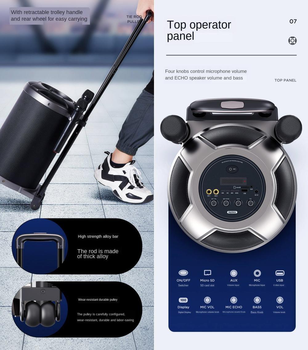 Remax Rb X6 Wireless Bluetooth Speaker (3)
