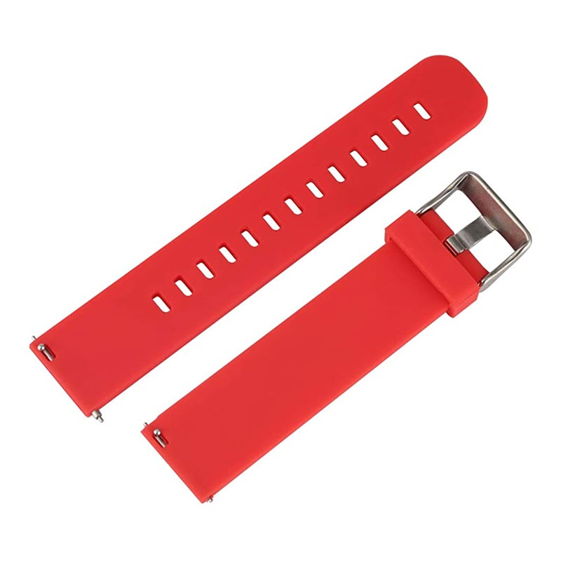 Silicone Band Watch Strap For 20mm 22mm