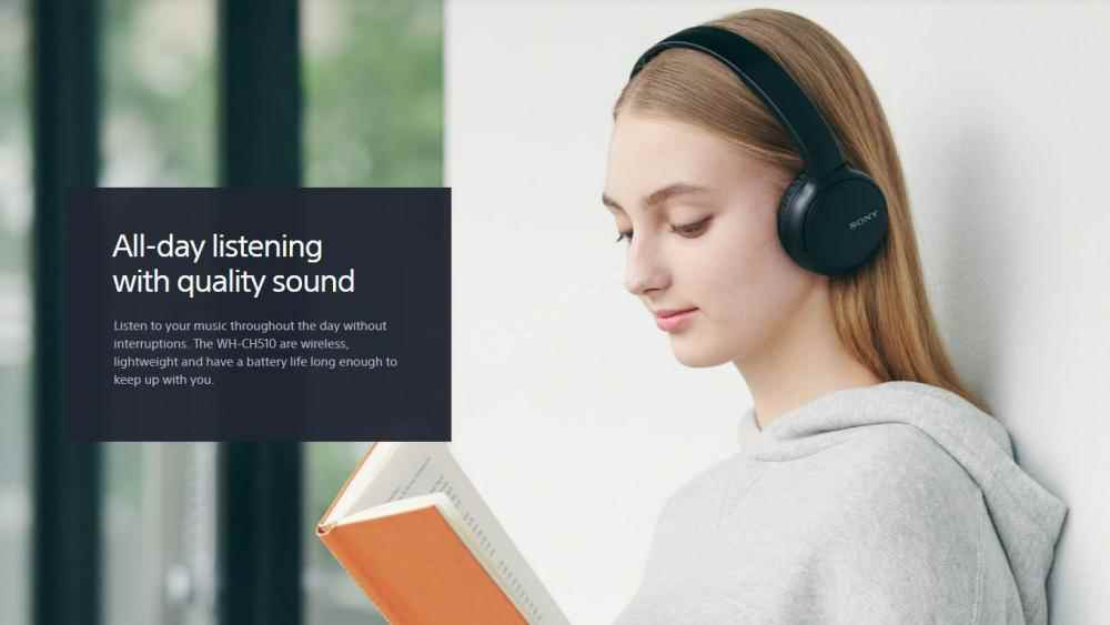 Sony Wh Ch510 Wireless Headphones (2)