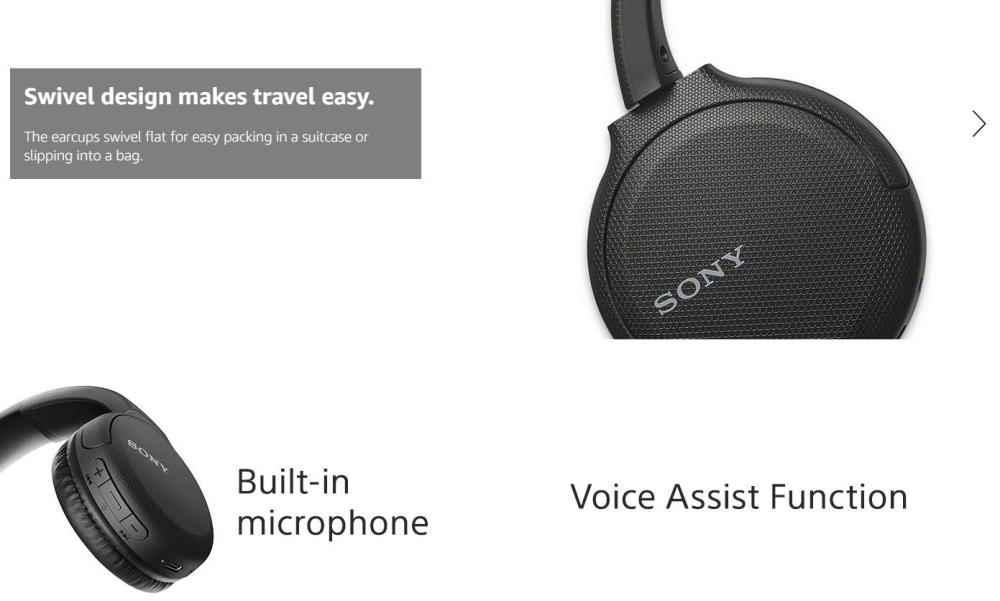 Sony Wh Ch510 Wireless Headphones (5)