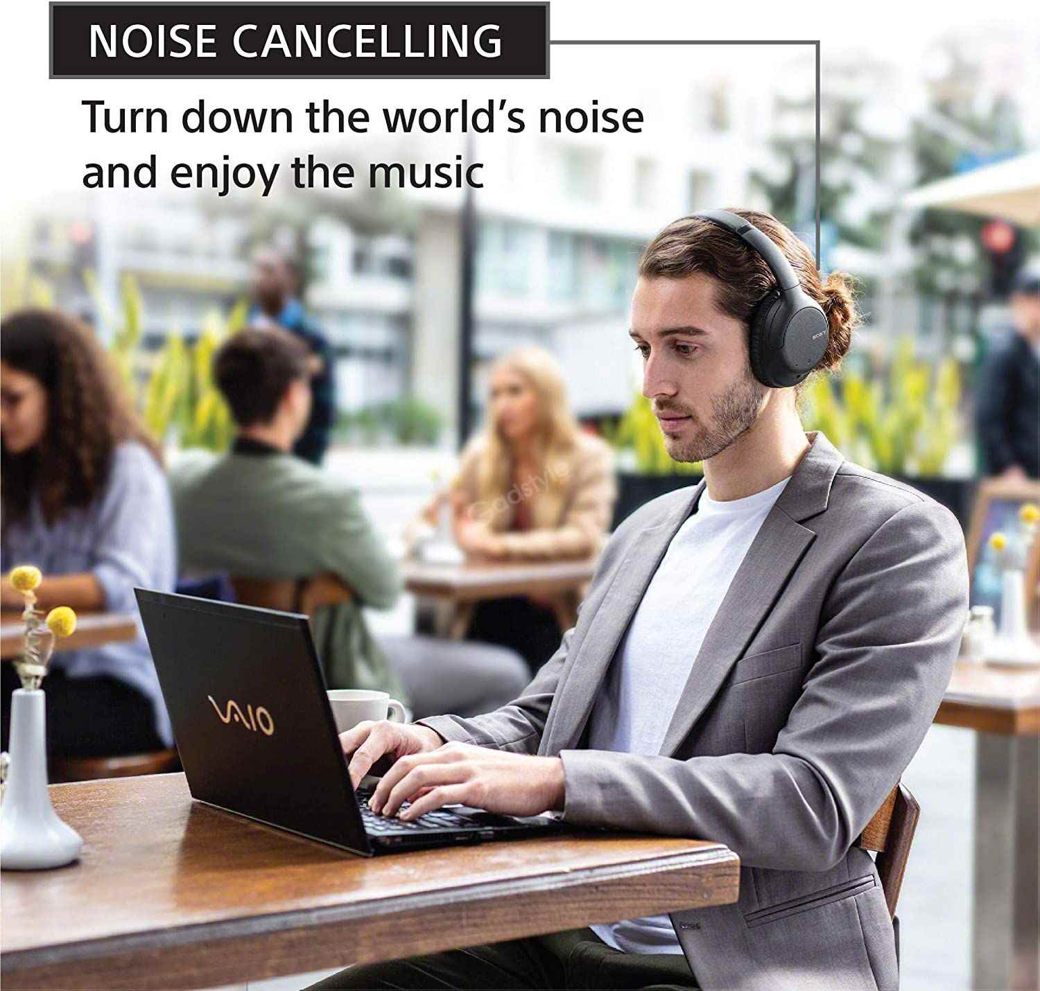 Sony Wh Ch710n Wireless Noise Cancelling Headphone (4)