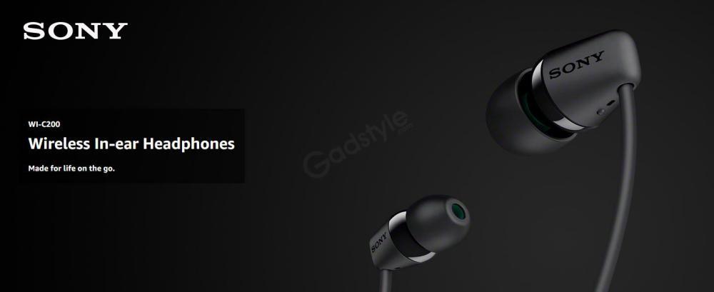 Sony Wi C200 Wireless In Ear Headphones (6)