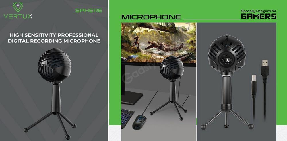 Sphere High Sensitivity Professional Digital Recording Microphone (1)