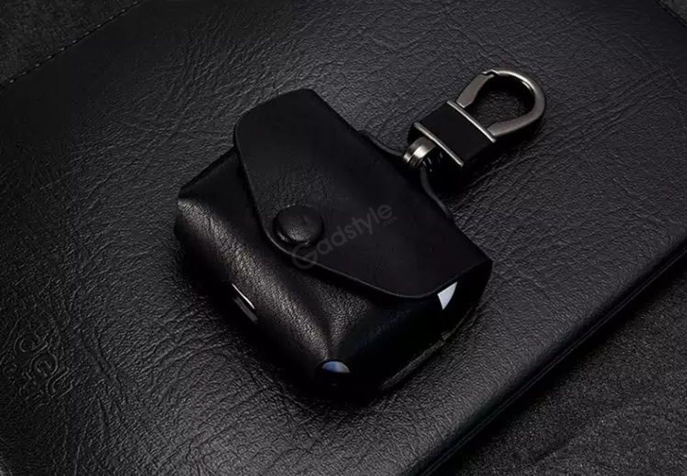 Switcheasy Wrap Premium Leather Case With Ring Holder For Apple Airpods Pro (2)