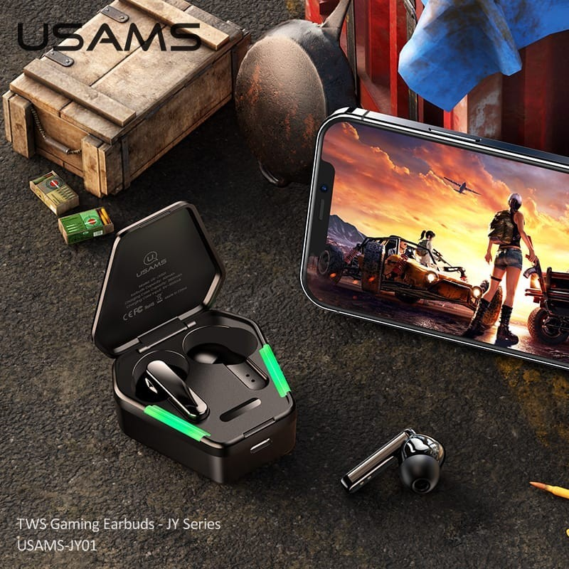 Usams Jy01 Wireless Tws Earbuds With Noise Cancelling (2)