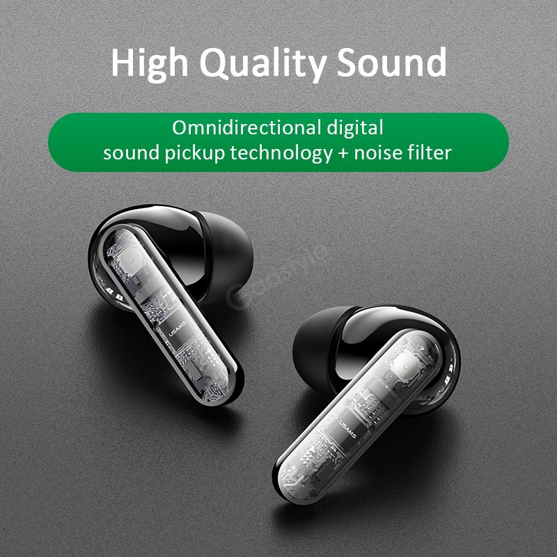 Usams Jy01 Wireless Tws Earbuds With Noise Cancelling (3)