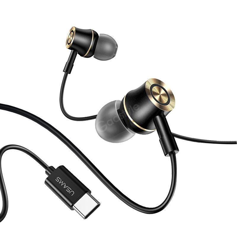 Usams Us Sj482 Ep 43 Type C In Ear Metal Earphone (1)