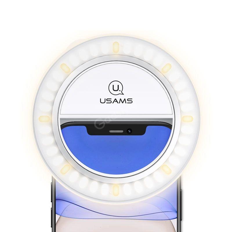 Usams Us Zb182 Mini Selfie Ring Light (5)