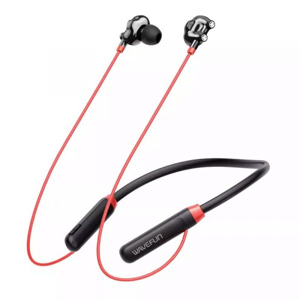 Wavefun Flex U Dual Dynamic Speaker Wireless Neckband Earphone (1)