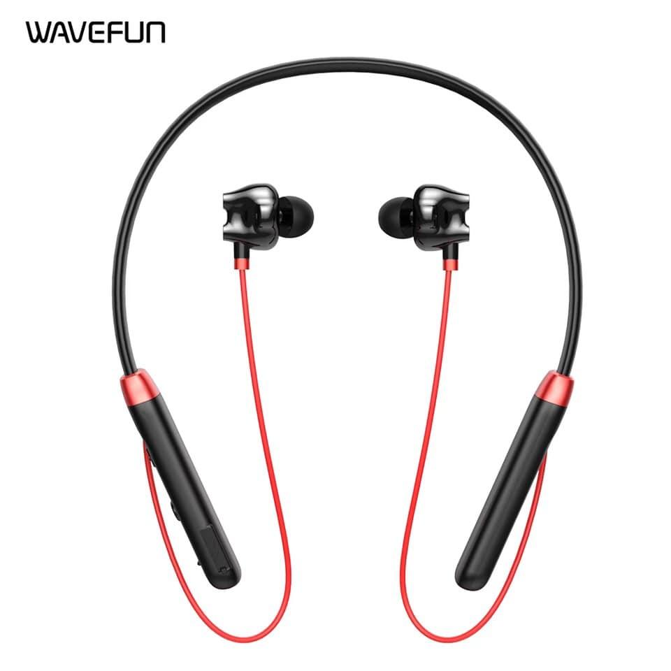 Wavefun Flex U Dual Dynamic Speaker Wireless Neckband Earphone (2)