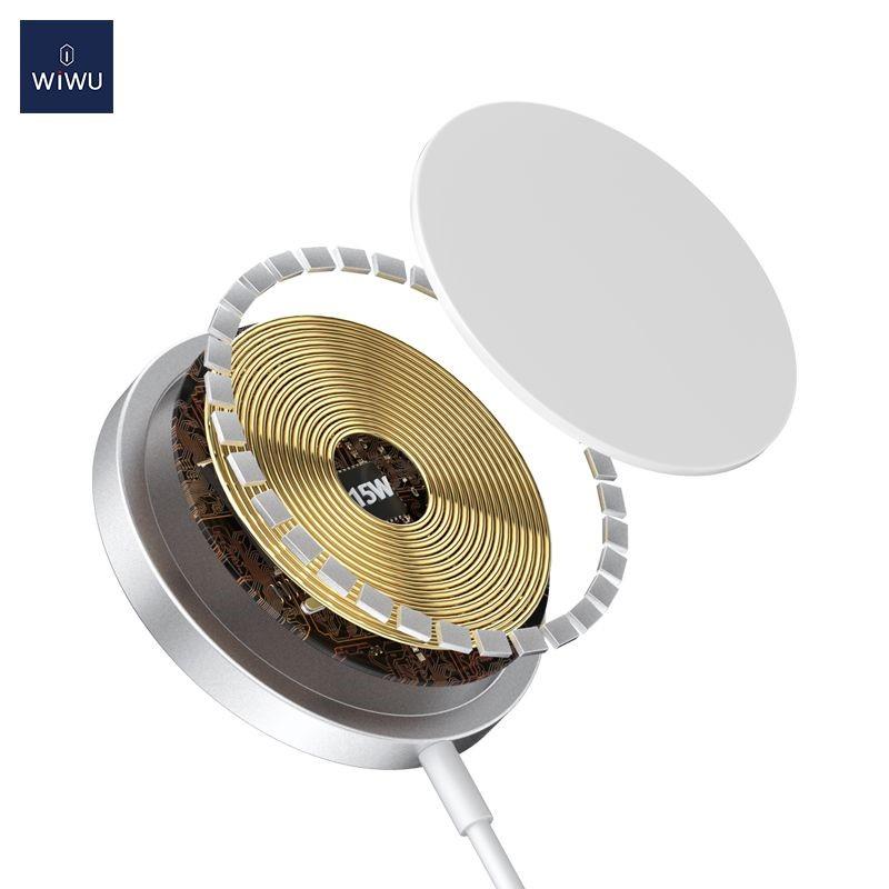 Wiwu 15w Magsafe Wireless Charger (2)