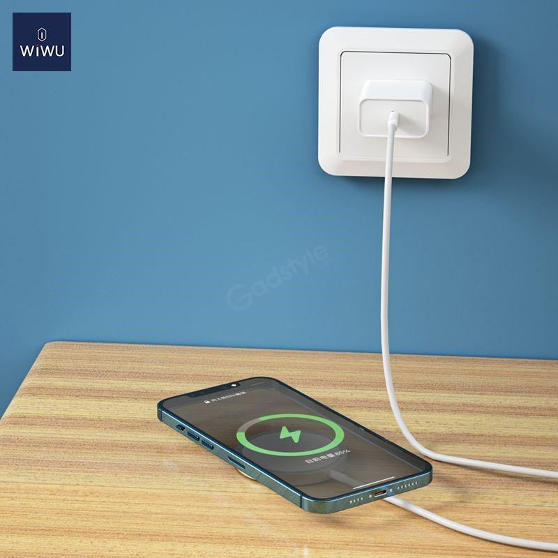 Wiwu 15w Magsafe Wireless Charger (5)