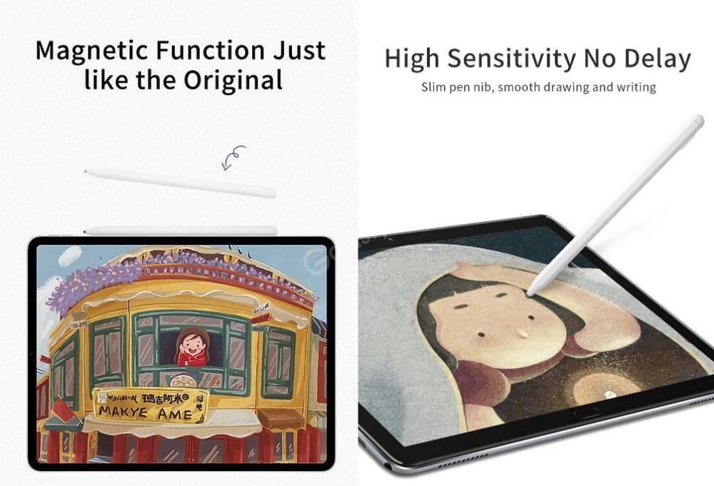 Wiwu Pencil Max Magnetic Capacitive Pen Sensitive Touch Stylus Pen (4)