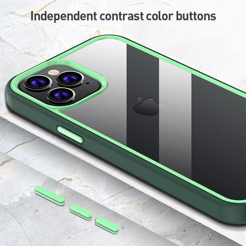 X Level Colourful Series Premium Bumper Case For Iphone 12 Mini 1212pro 12 Pro Max (2)
