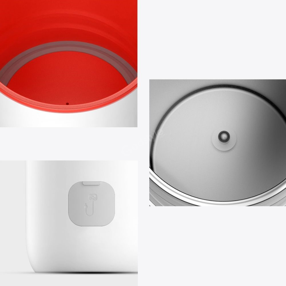 Xiaomi Deerma Electric Hot Water 350ml Stainless Steel Thermos Stew Kettle Cup (2)
