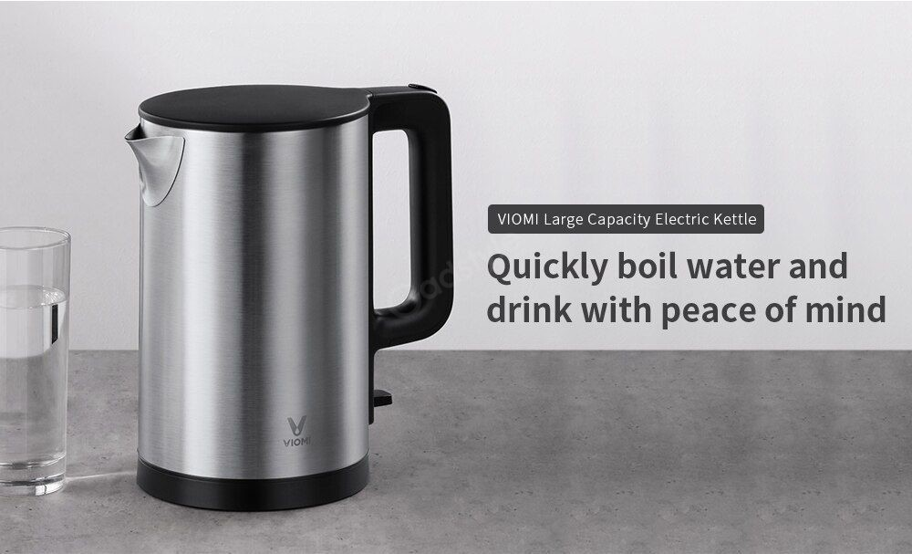 Xiaomi Electric Kettle Fast Boiling 304 Stainless Steel 1 5l Large Capacity 1 8kw (4)