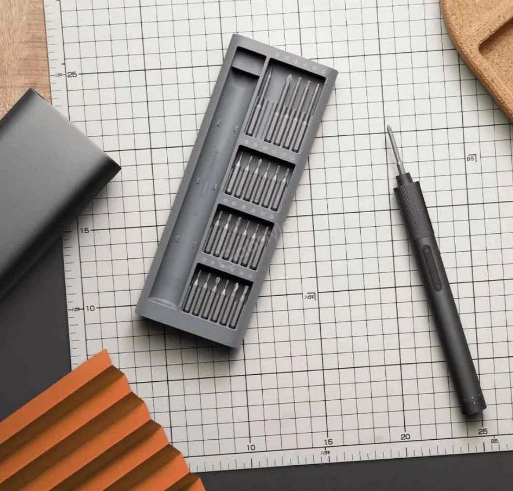 Xiaomi Electrical Screwdriver Kit 24pcs Repair Tool With Type C Charging Case (5)