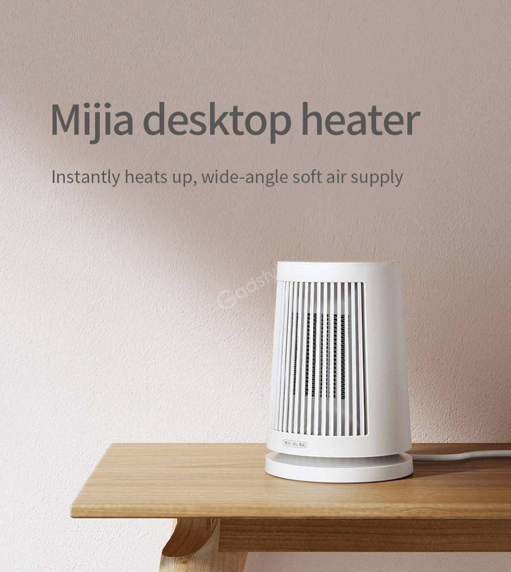 Xiaomi Mijia 600w Ptc Heating Desktop Electric Heater (4)