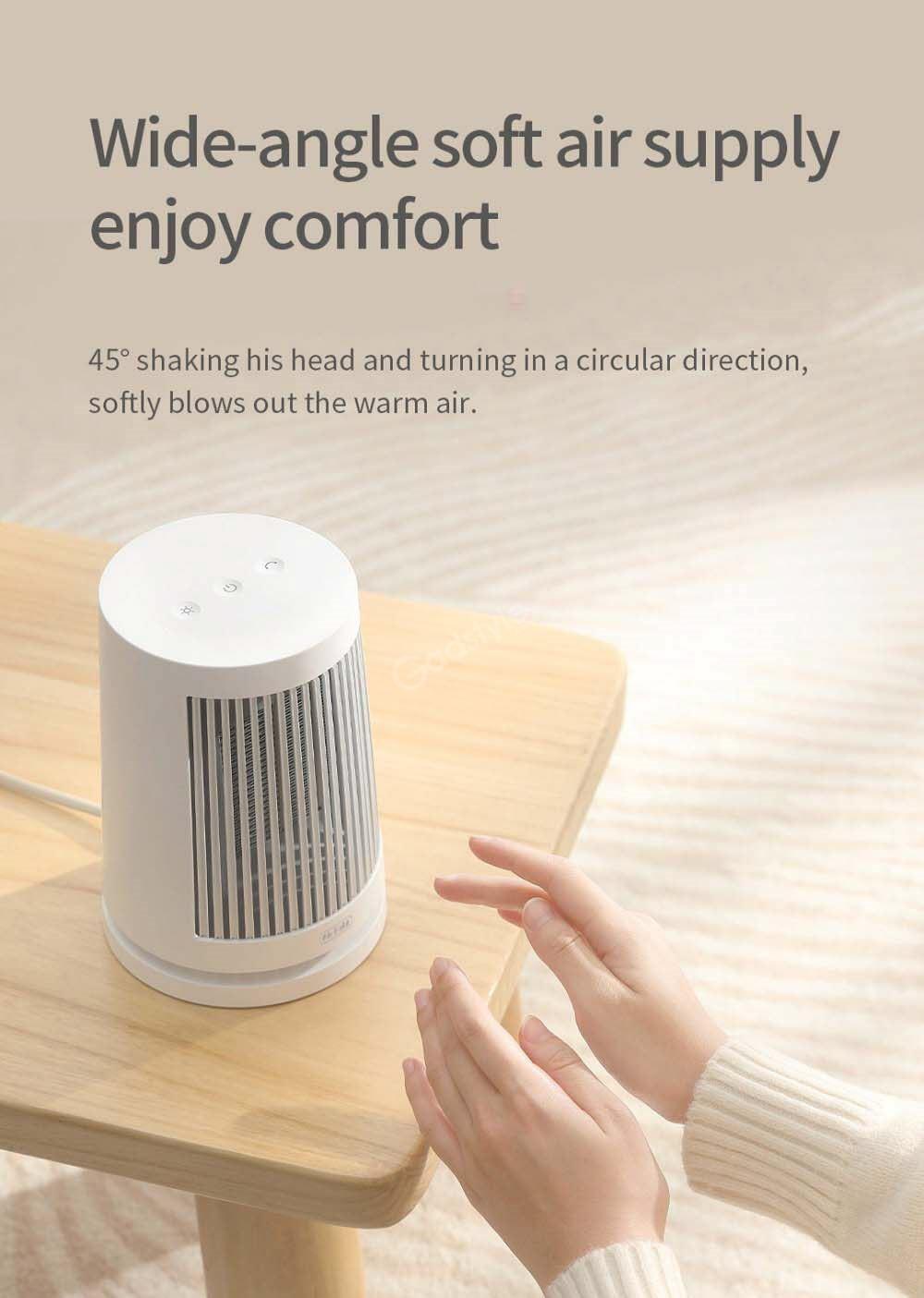 Xiaomi Mijia 600w Ptc Heating Desktop Electric Heater (6)