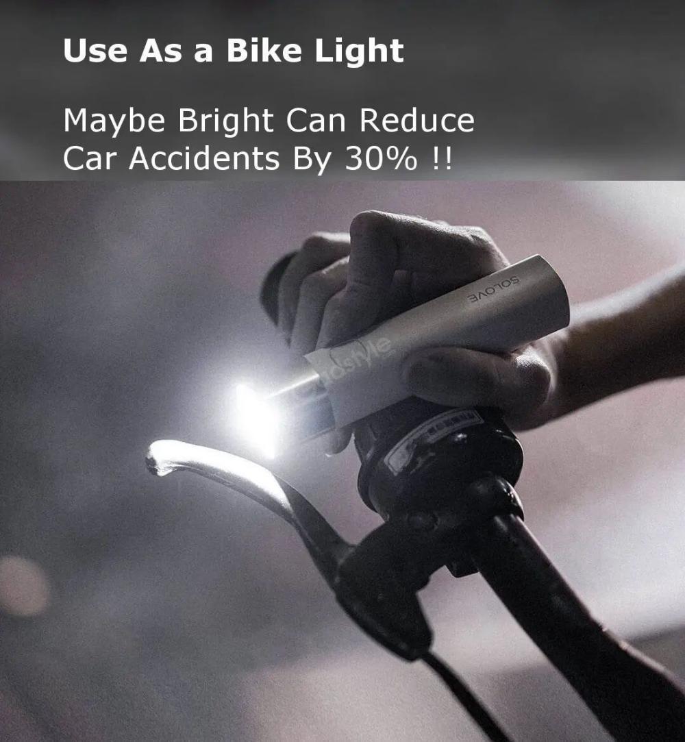 Xiaomi Solove X3 Usb Flashlight 3000mah Power Bank (2)