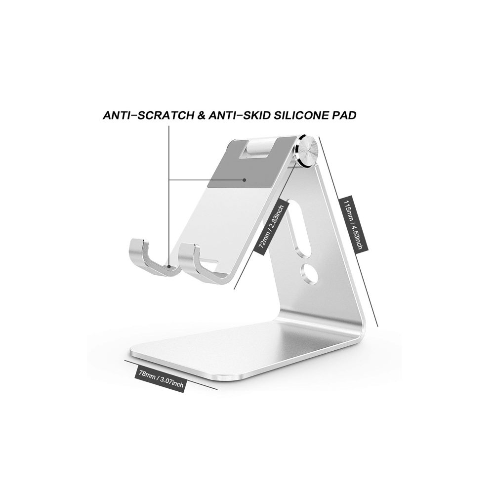 Aluminum Adjustable Mobile Phone Stand (3)