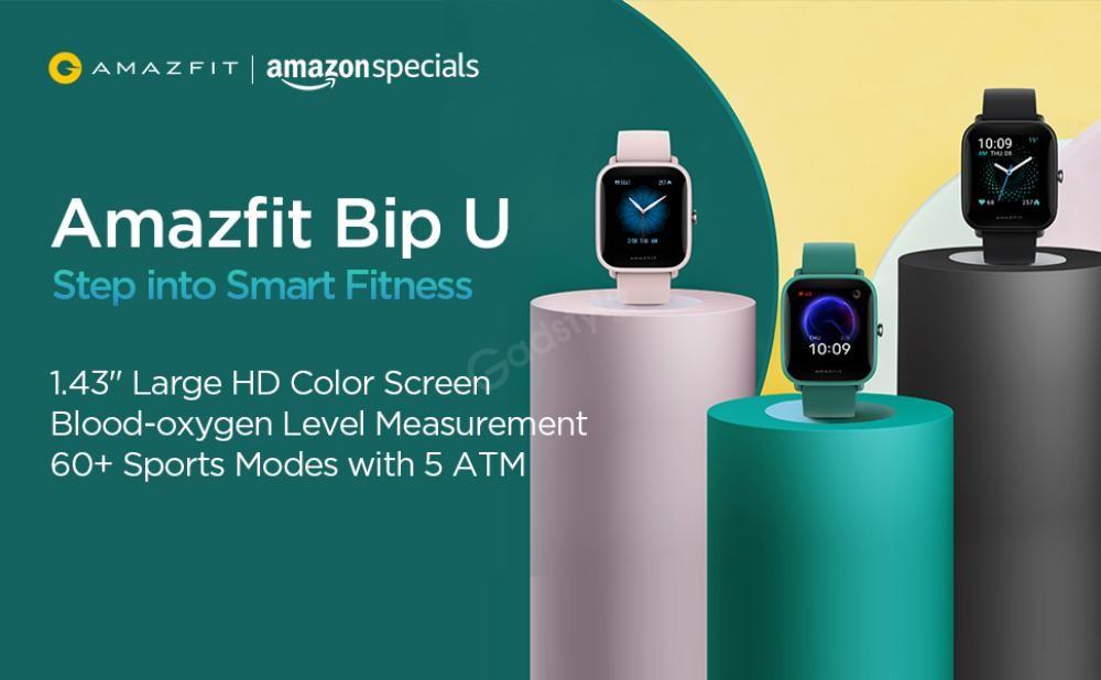 Amazfit Bip U Health Fitness Smartwatch (3)