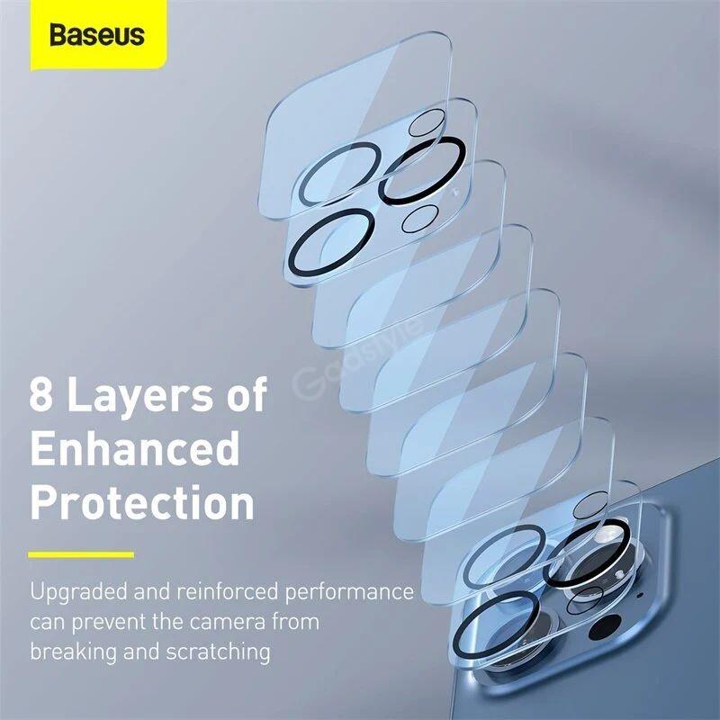 Baseus Back Camera Full Frame Lens Film For Iphone 12 Pro Max (2)