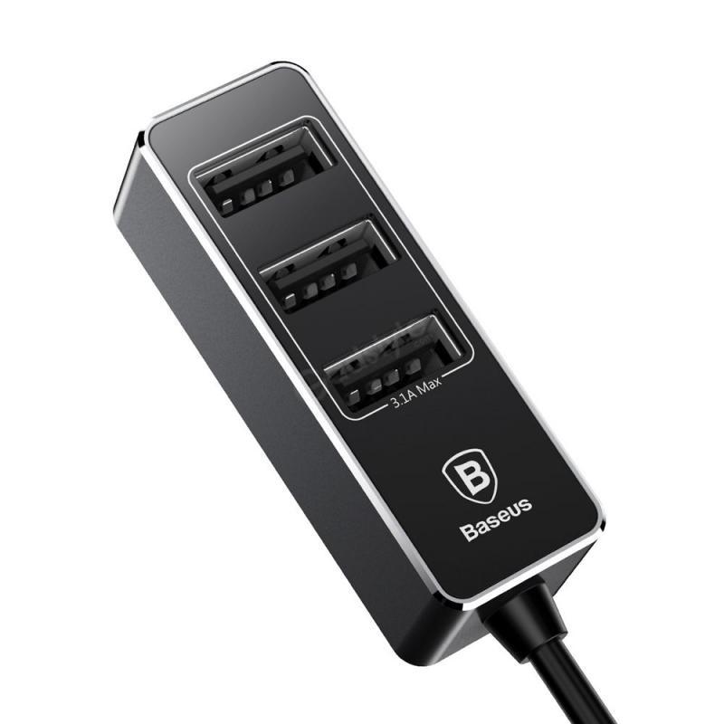 Baseus Enjoy Together Four Interfaces Output Patulous Car Charger (5)