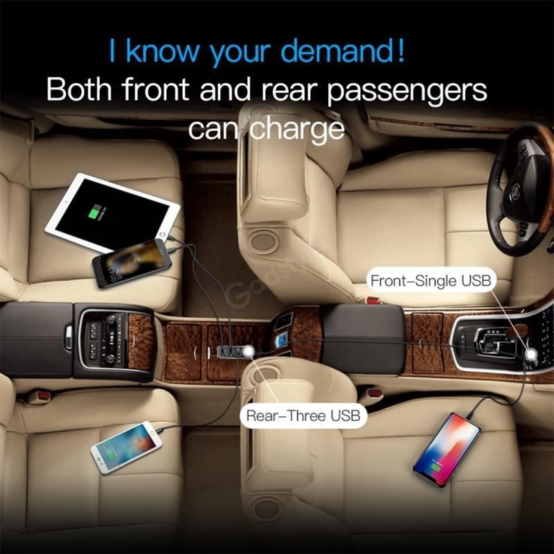 Baseus Enjoy Together Four Interfaces Output Patulous Car Charger (6)
