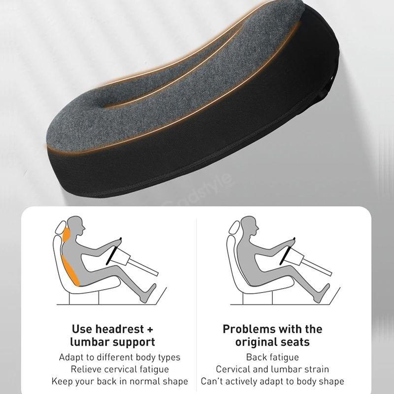 Baseus Floating Car Headrest Waist Pillow (2)