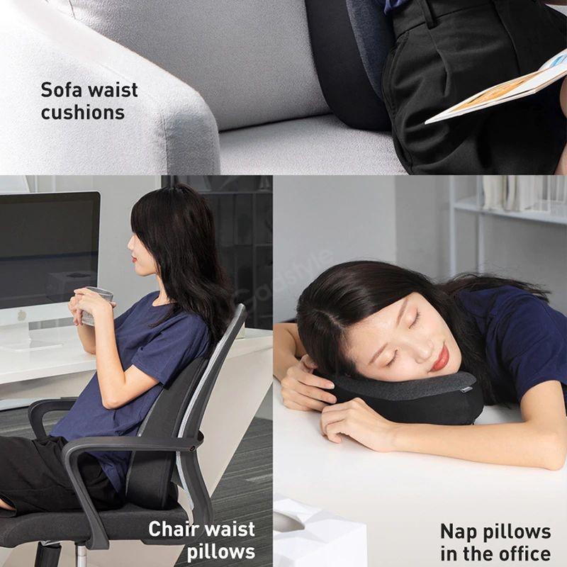 Baseus Floating Car Headrest Waist Pillow (4)