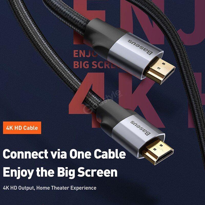 Baseus Hdmi Cable 4k 60hz Hdmi To Hdmi 2 0 8 Meter (1)