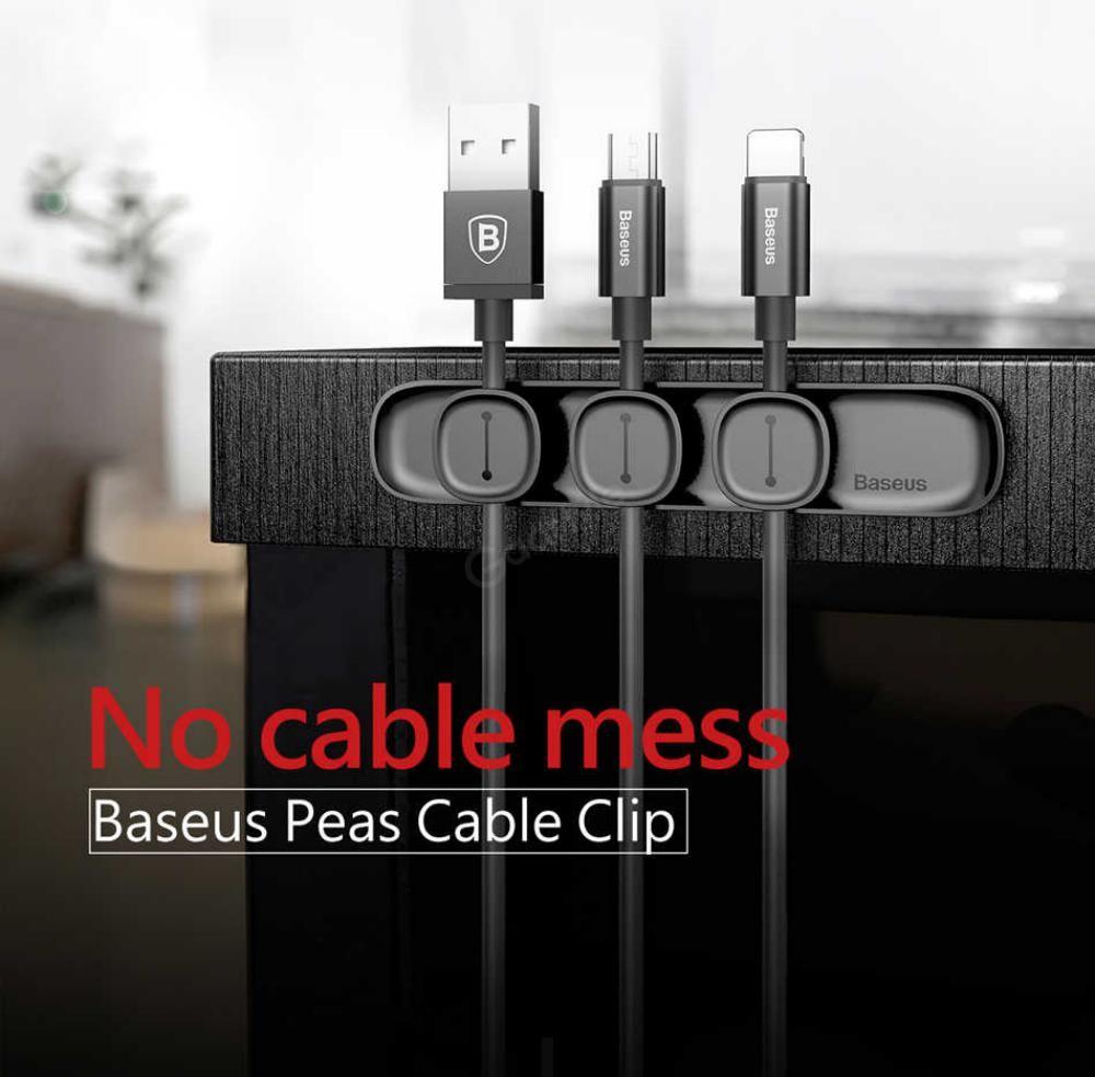 Baseus Magnetic Cable Organizer Holder (2)