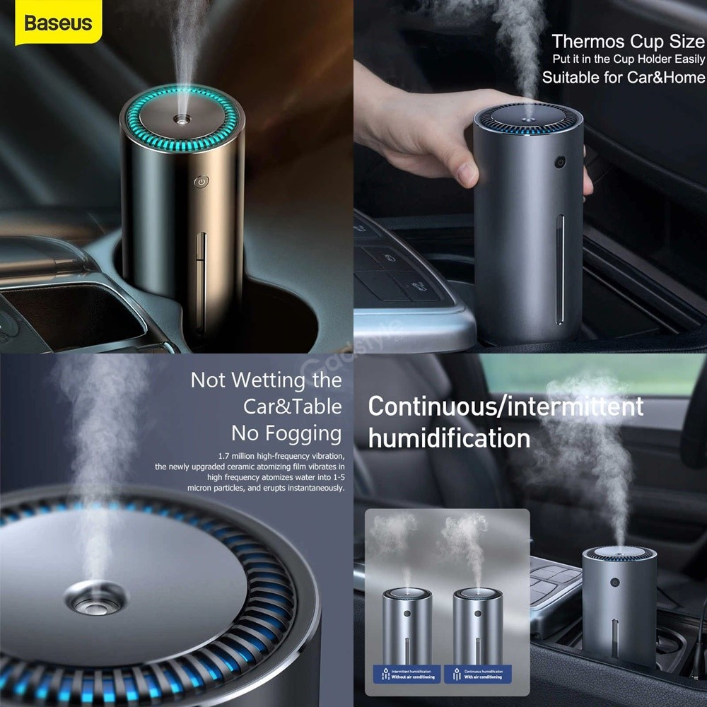 Baseus Moisturizing Humidifier Aroma Essential Oil Diffuser For Home Office Car (1)