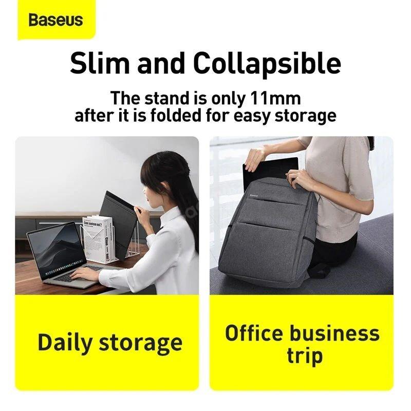 Baseus Ultra High Folding Laptop Stand (4)