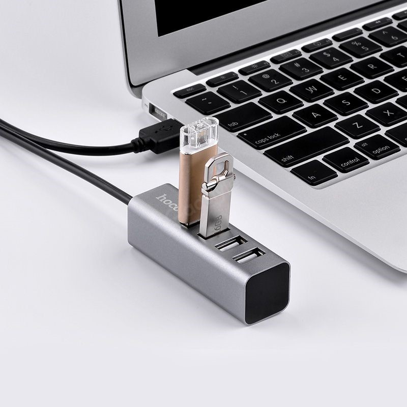 Hoco Hb1 Usb A To Four Usb Charging Data Sync (2)