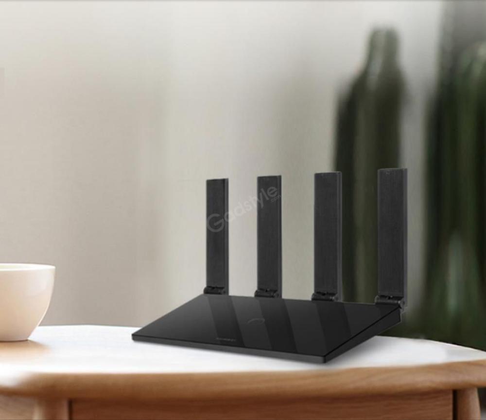 Huawei Ws6500 Gigabit Dual Core Router Dual Frequency Broadband 4 Antennas Black (2)