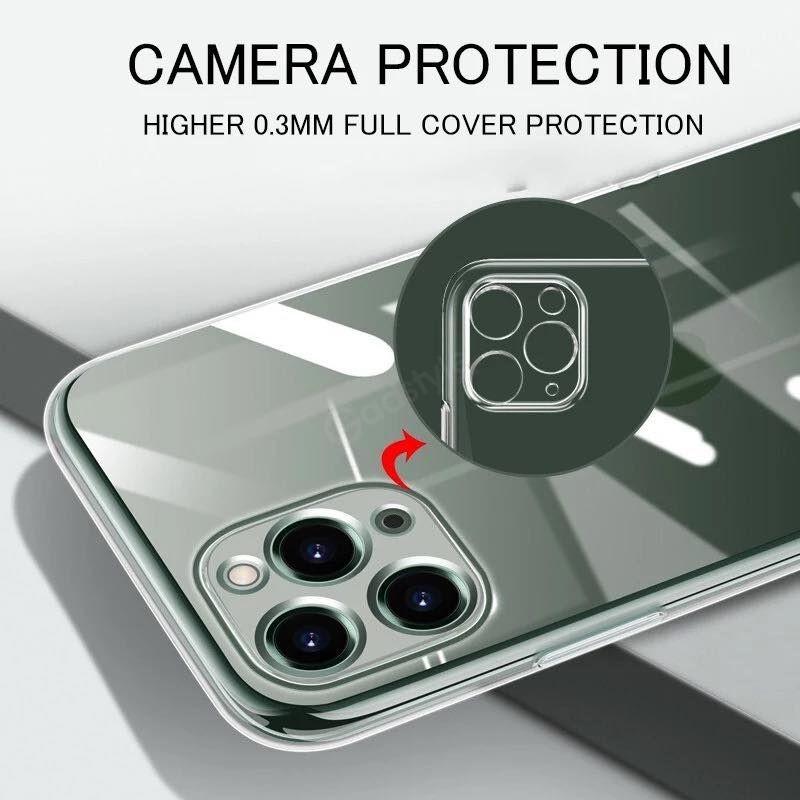 J Case Transparent Protective Case For Iphone 12 12 Mini 12 Pro 12 Pro Max (3)