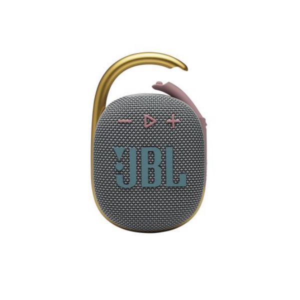 Jbl Clip 4 Ultra Portable Waterproof Speaker Grey (1)