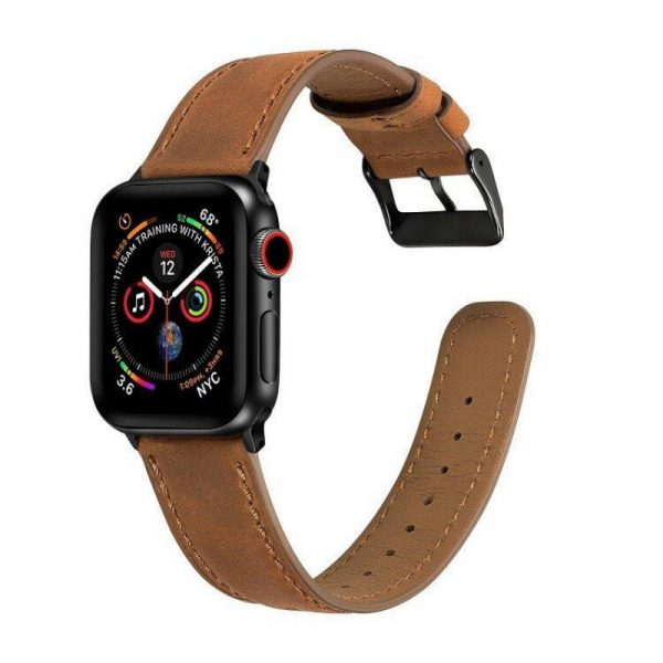 Leather Watch Strap For Apple Watch 42mm 44mm (2)