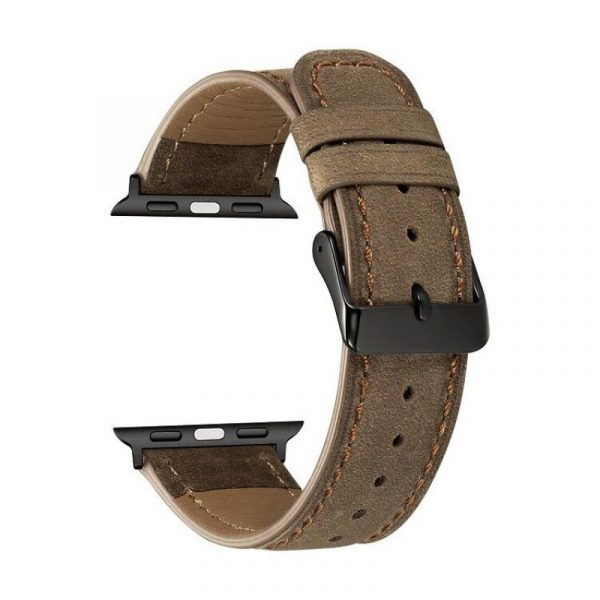 Leather Watch Strap For Apple Watch 42mm 44mm (4)