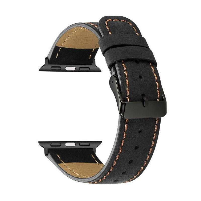 Leather Watch Strap For Apple Watch 42mm 44mm (5)