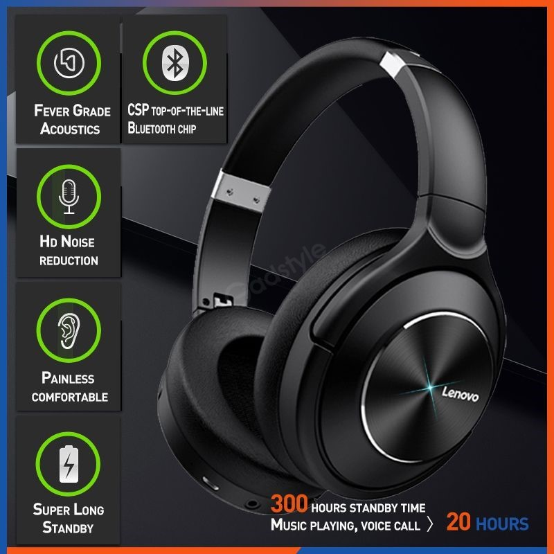 Lenovo Hd700 Active Noise Cancelling Wireless Headphones (4)