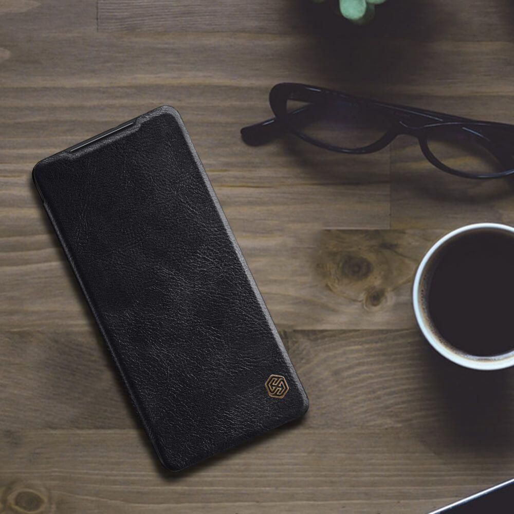 Nillkin Leather Case For Samsung Galaxy S21 Ultra (6)