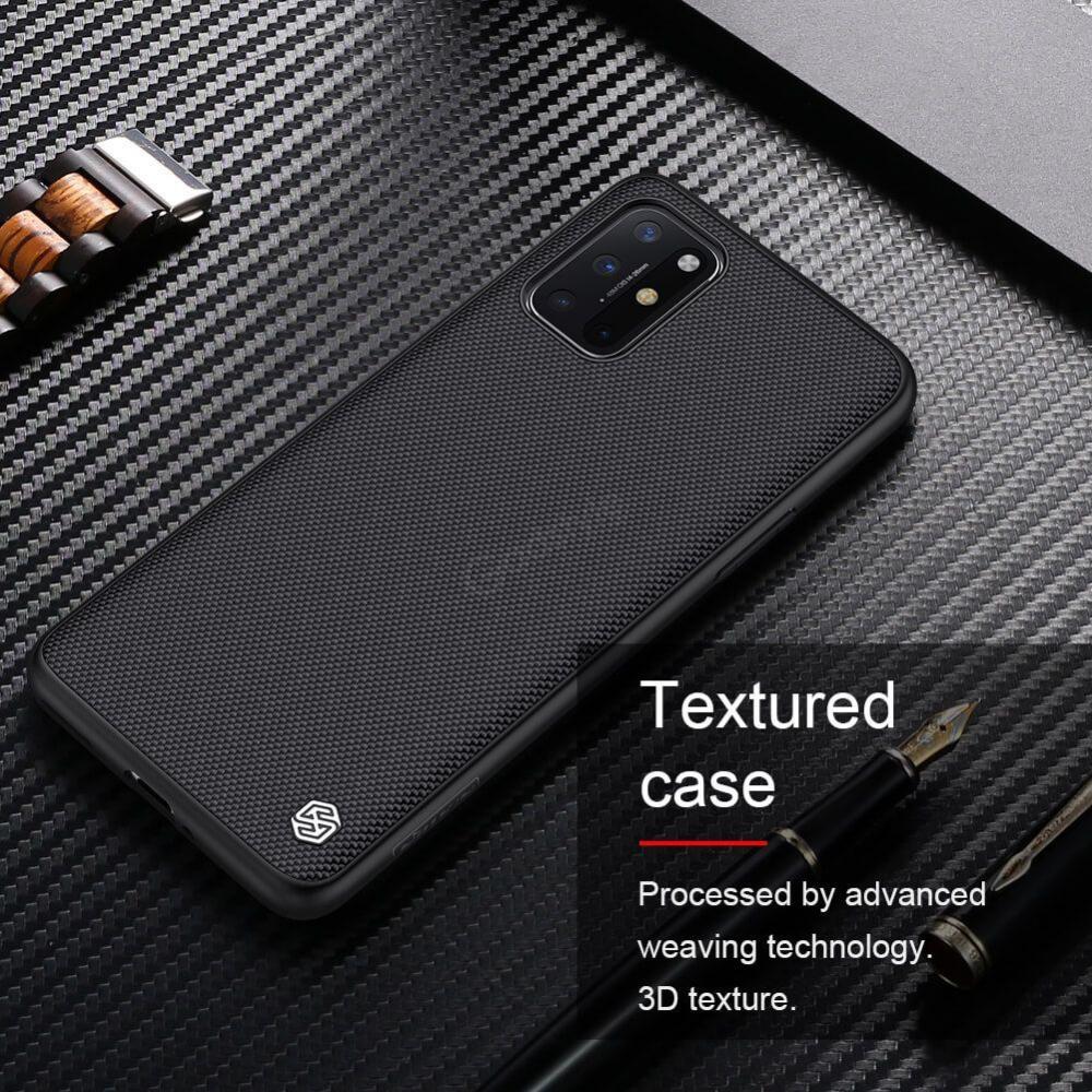 Nillkin Oneplus 8t Textured Nylon Fiber Case (6)