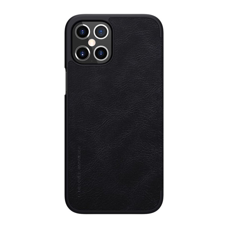 Nillkin Qin Series Leather Case For Apple Iphone 12 Pro Max (1)