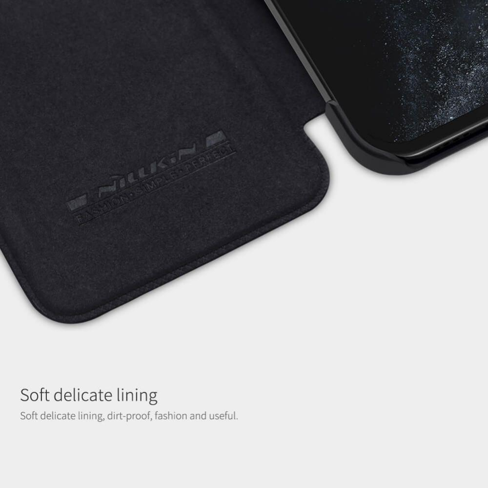 Nillkin Qin Series Leather Case For Apple Iphone 12 Pro Max (8)