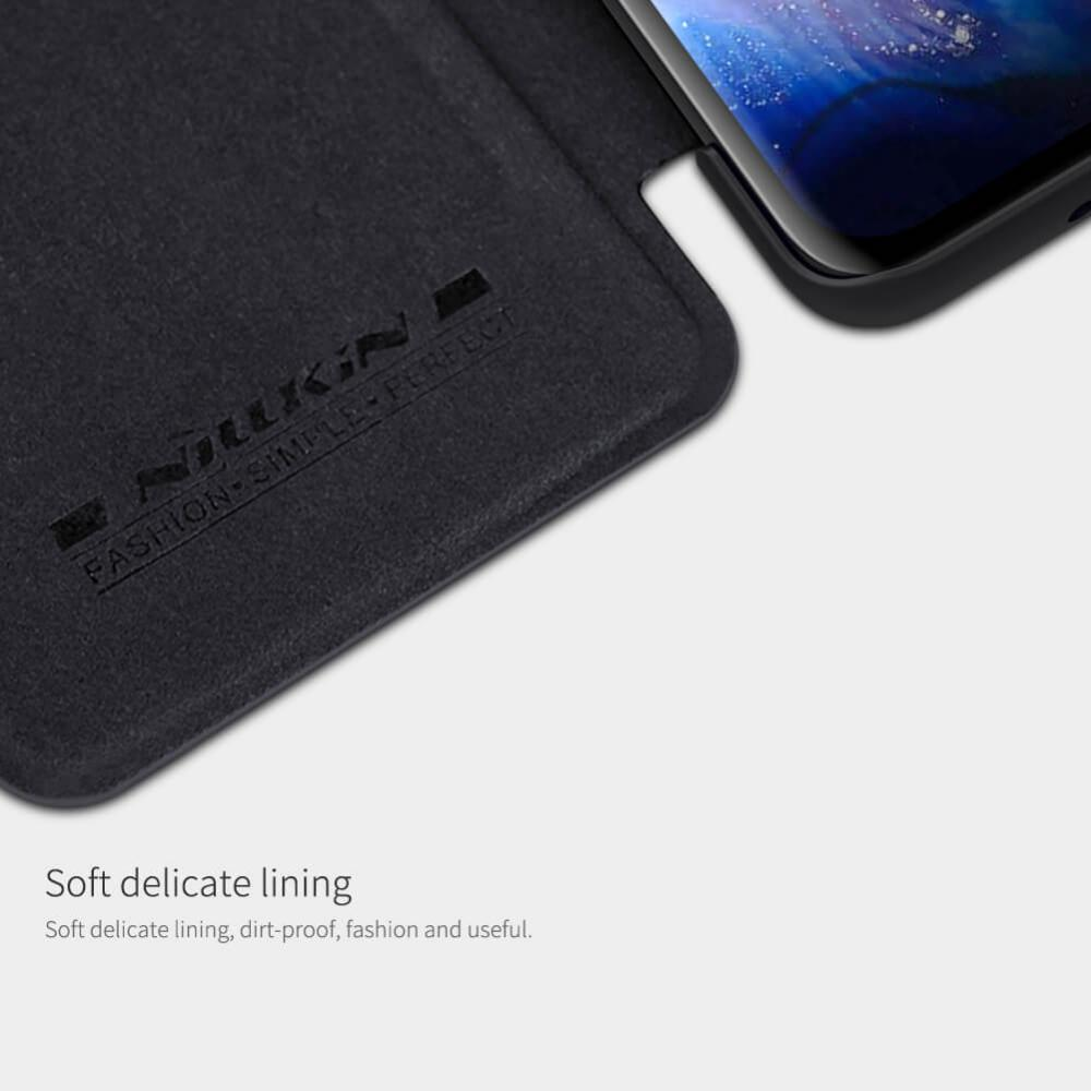 Nillkin Qin Series Leather Case For For Samsung Galaxy S20 Ultra (4)