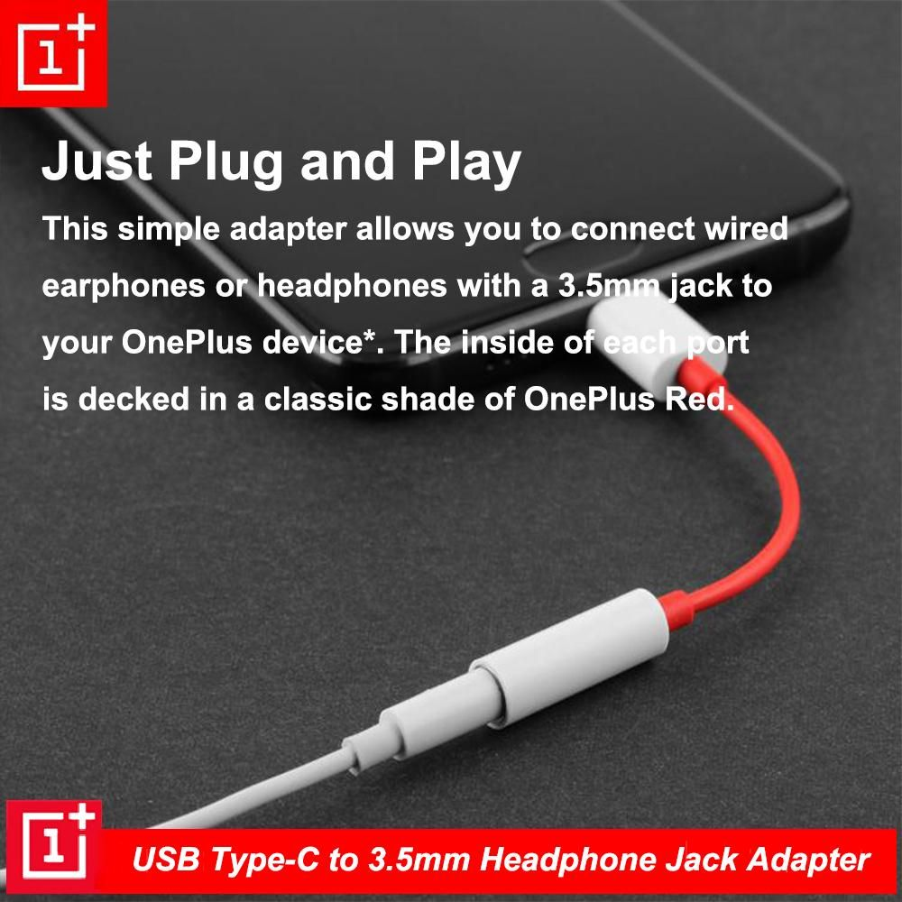 Oneplus Type C To 3 5mm Dongle Earphone Converter (2)